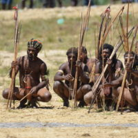 Baliem Valley Festival, Ancient Tribe's Mock War Experience