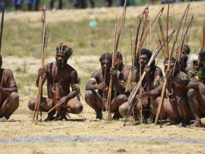 Baliem Valley Festival, Ancient Tribe's Mock War Experience