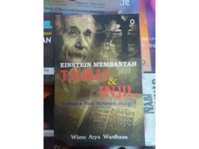 Einstein Membantah Taurat dan Injil; Einstein Mati Matanya Dijugil
