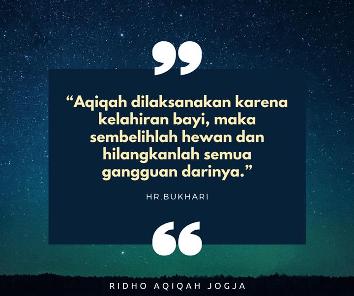 hukum aqiqah